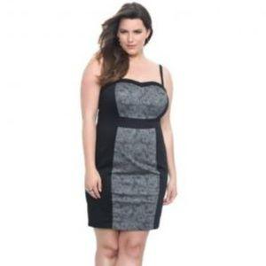 Torrid Flattering Faux Lace Dress